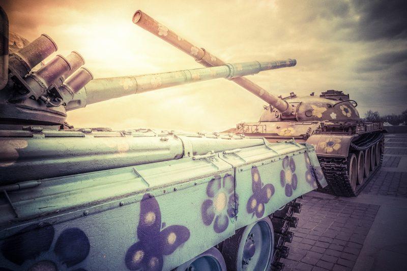 Fuck War @ Patriotic War Museum // Ukraine