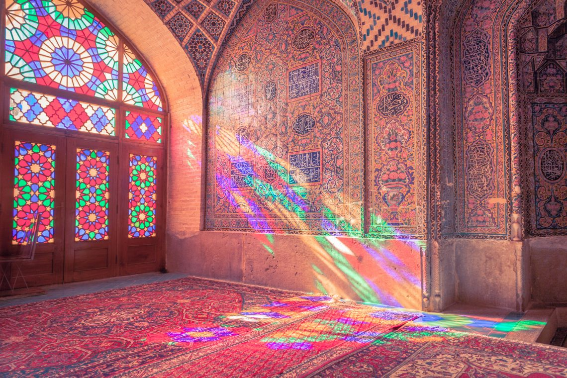 Light will someday split you open … // Iran