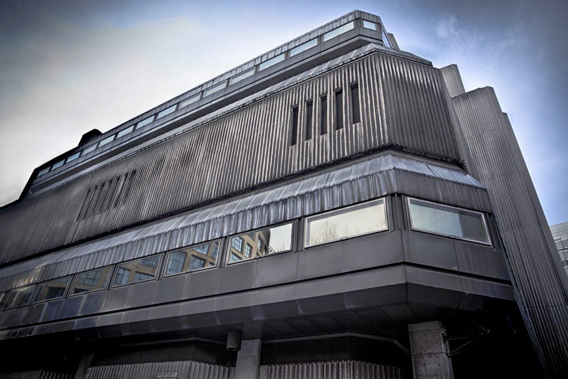 Good old Concrete chunk :  Sampson House // United Kingdom
