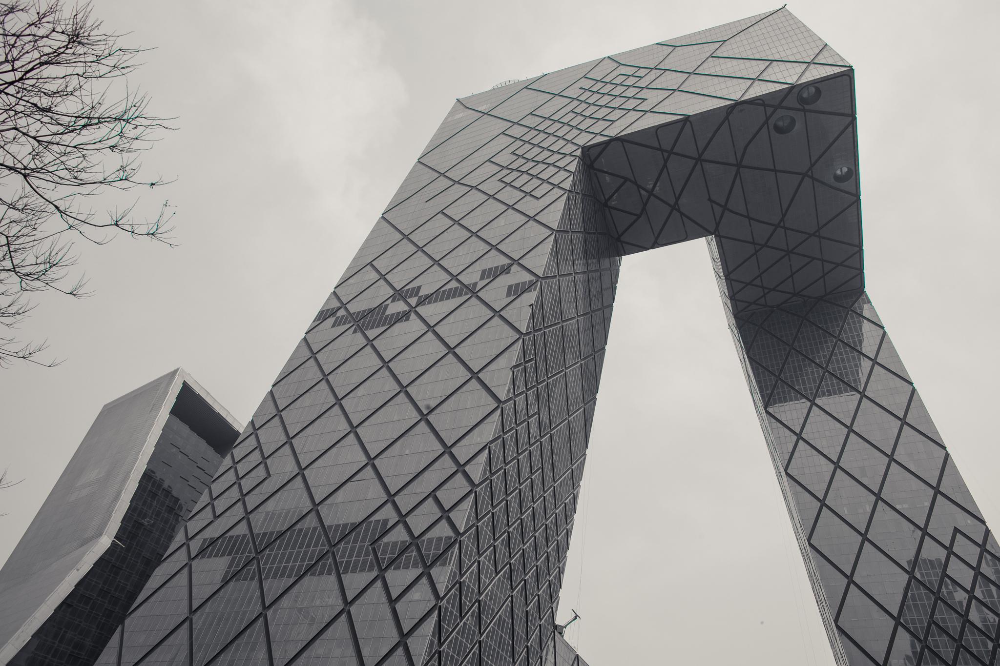 Greyjing Beijing @ CCTV Headquarters - La Dent de L'Oeil [OC][2048x1378]