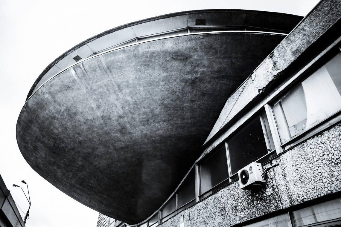 Concrete spaceship // Ukraine