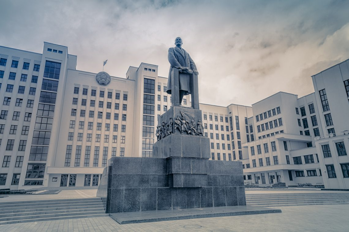The Lenin of Independence Square // Belarus