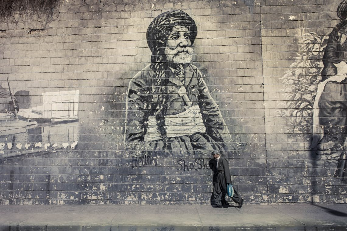 Sulaymaniyah 's streetshot // Iraqi Kurdistan
