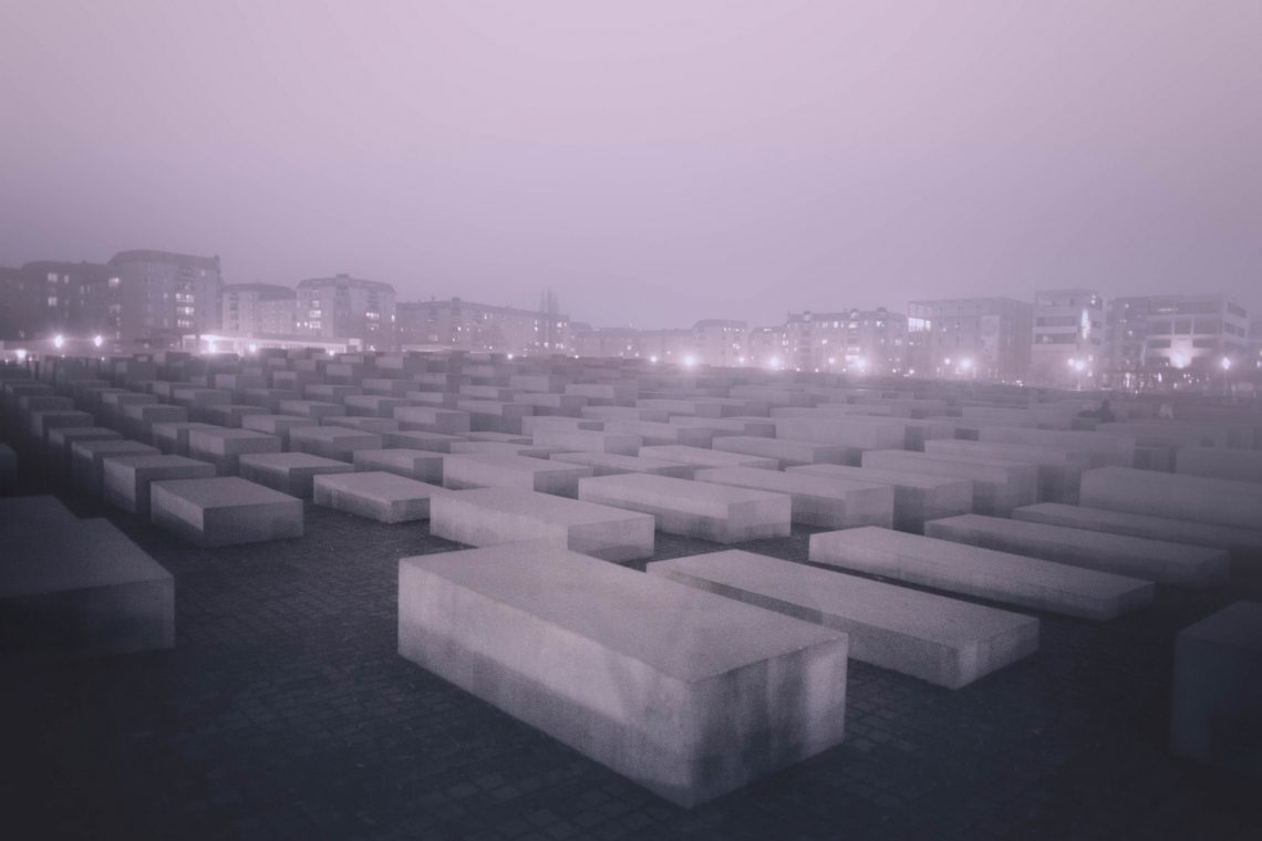 Berlin's night – Holocaust Memorial // Germany