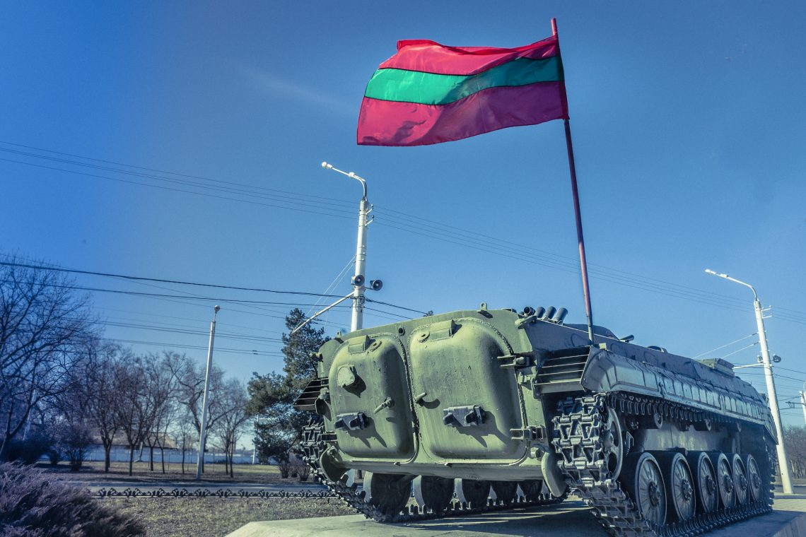 At the east of the Dniester river .. nothing // Transnistria