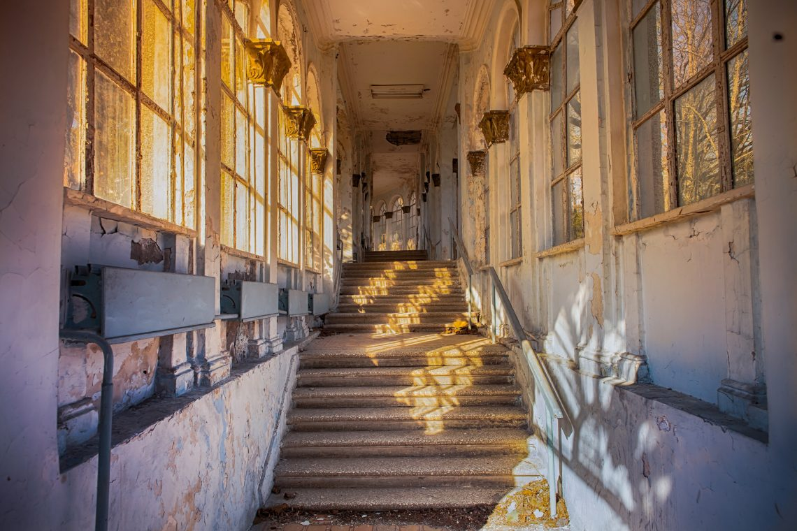 The Old Soviet sanatorium // Georgia