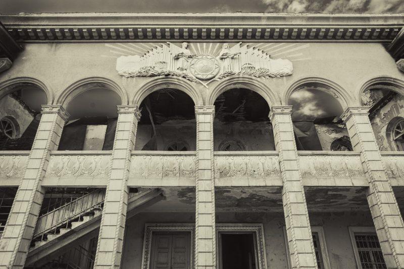 The abandonned music school // Akhmeta // Georgia