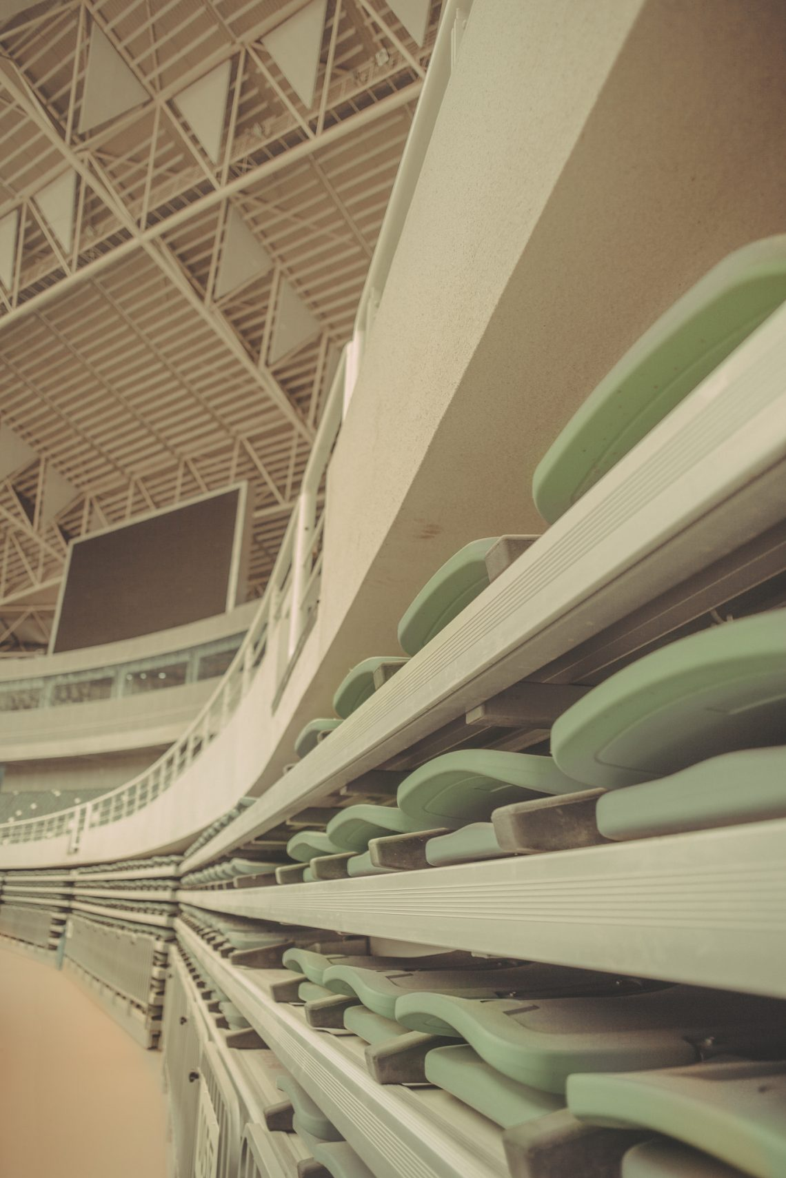 Ordos – Ghost city stadium // China