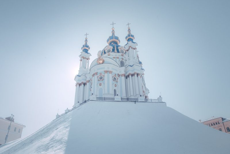 St Andrew's Church // Kyiv // Ukraine