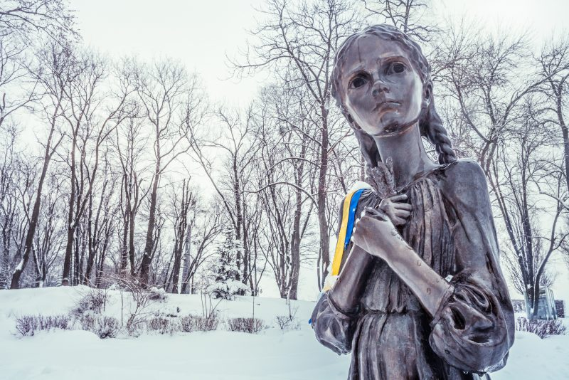 Memorial to the Holodomor Victims ( 1932-1933 ) // Ukraine
