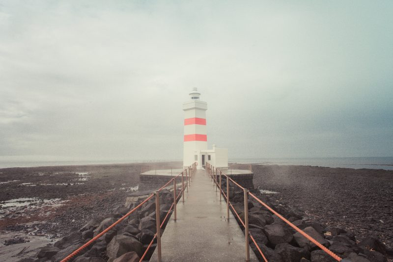 The old lighthouse // Garður // Iceland