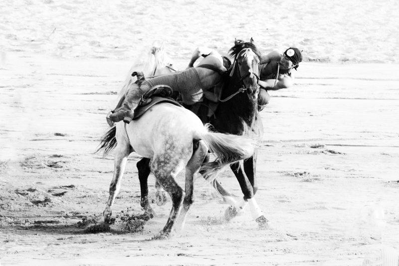 Er Enish – Horse wrestling // Kyrgyzstan