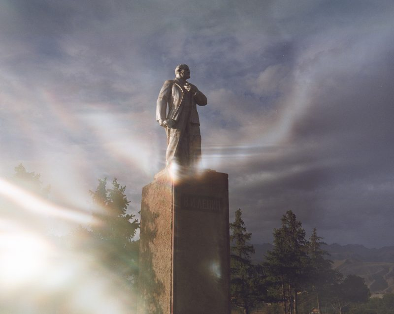 Lenin of Tcholpon Ata // Kyrgyzstan