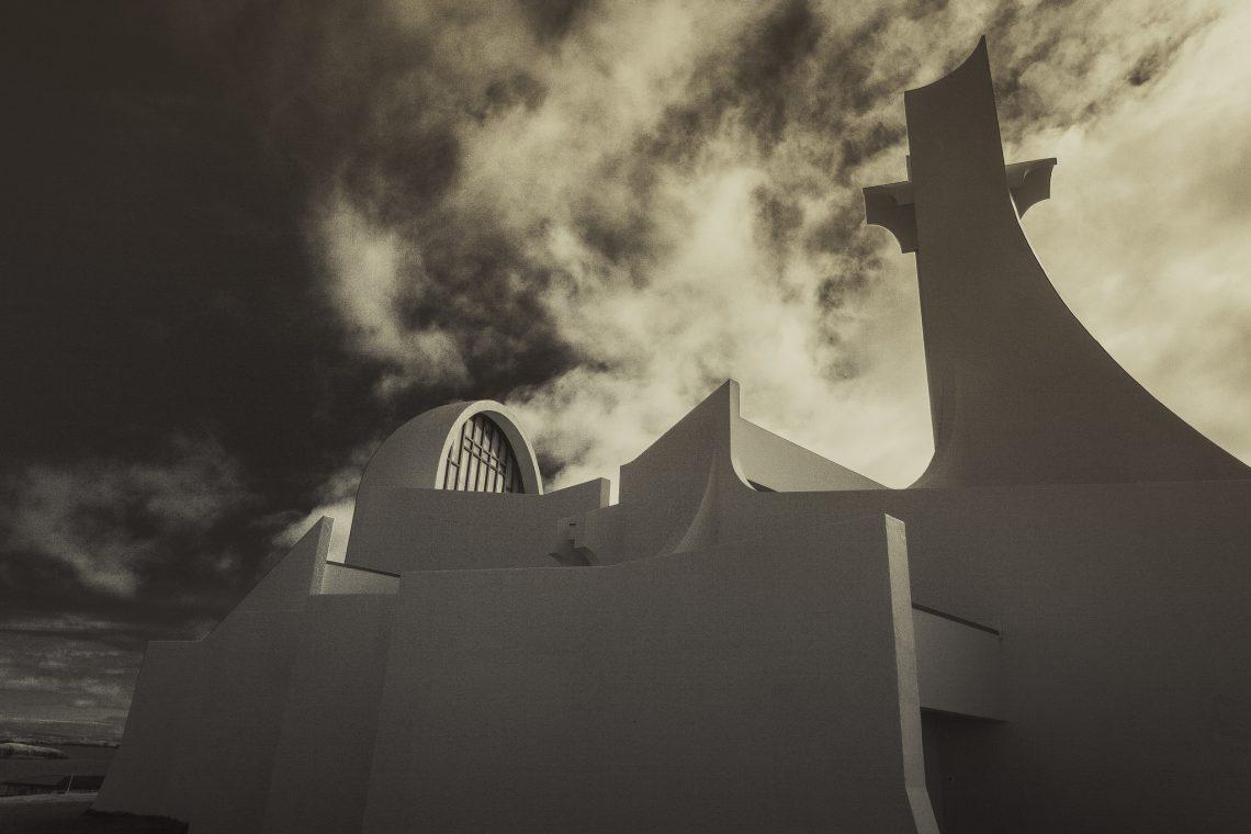 Stykkishólmur 's Concrete Starship // Iceland