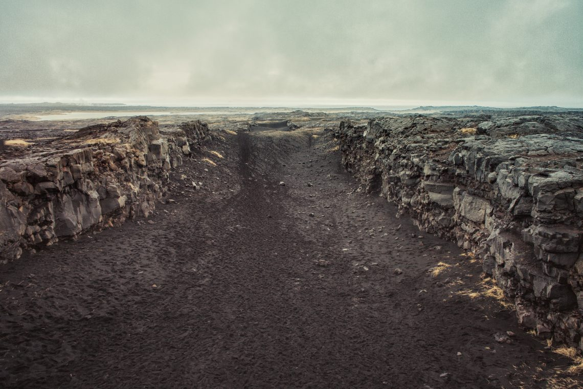 On the road to planet Mars will you walk by my side  // Iceland