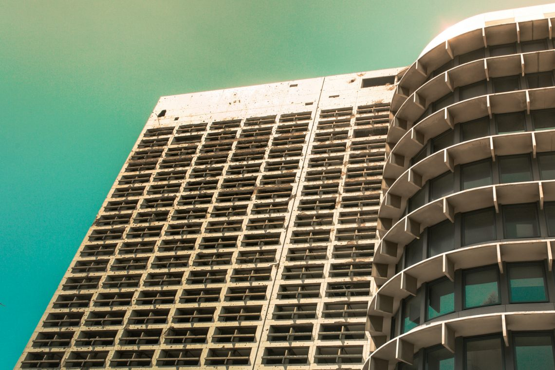 Brutal Holiday Inn Beirut // Lebanon
