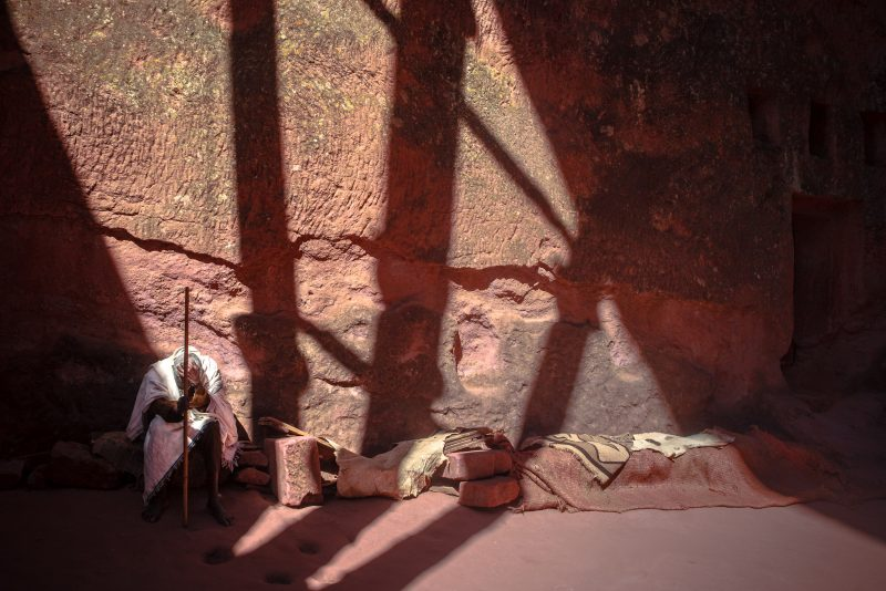 In the shadows of faith // Lalibela 's churches  // Ethiopia