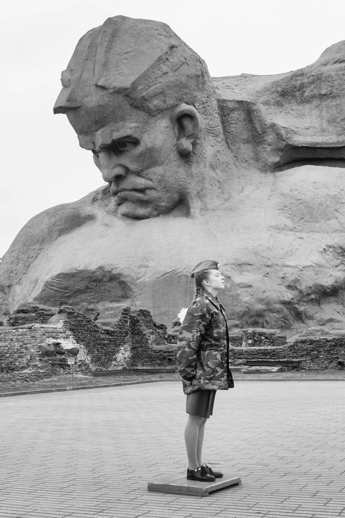 Courage monument of the Brest fortress // Belarus